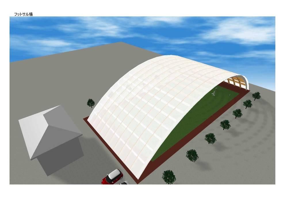 Estadios de estilo  por IROHA ARCHITECTS DESIGN OFFICE, Ecléctico