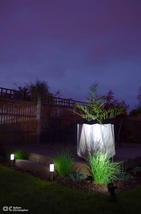 Kronen 65 Planter Warm Grey Concrete Adam Christopher Design Garden Plant pots & vases Concrete Grey