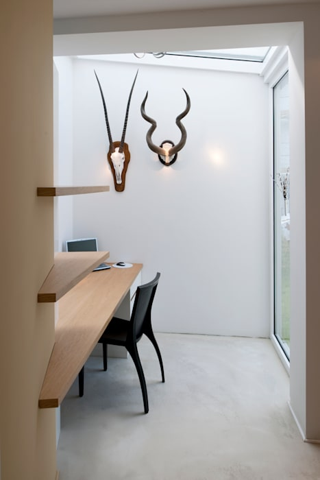 Modernes Einfamilienhaus in Essen Moderne Arbeitszimmer von Stockhausen Fotodesign Modern
