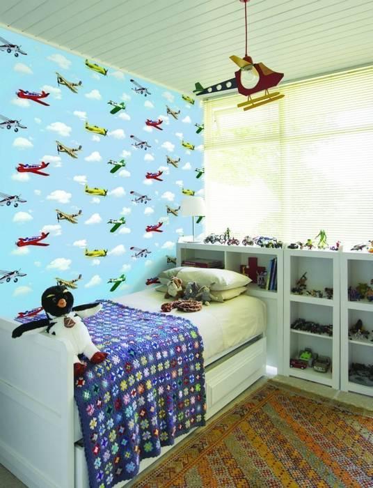 Modern Kid's Room by 4 Duvar İthal Duvar Kağıtları & Parke Modern