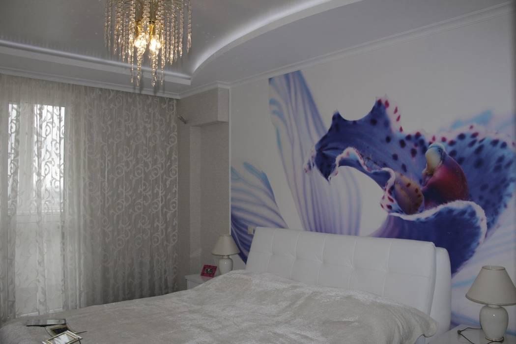 臥室 by Студия интерьерного дизайна happy.design, 現代風