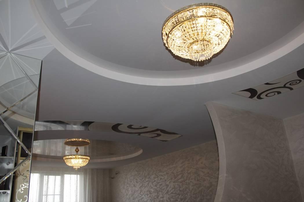 Living room by Студия интерьерного дизайна happy.design, Modern