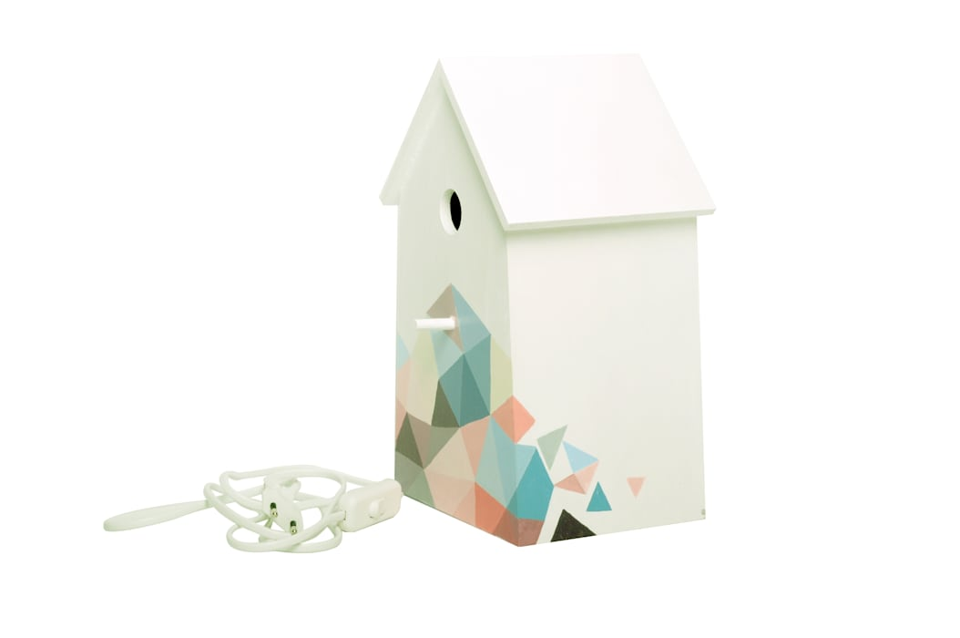 "Birdhouse lamp ""Bee's dream"" NOBOBOBO KinderzimmerBeleuchtung"