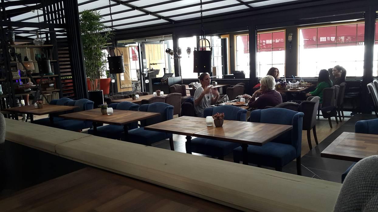 N'CESUR FURNİTURE – cukalata-2- beykent:  tarz Yemek Odası, Endüstriyel Ahşap Ahşap rengi