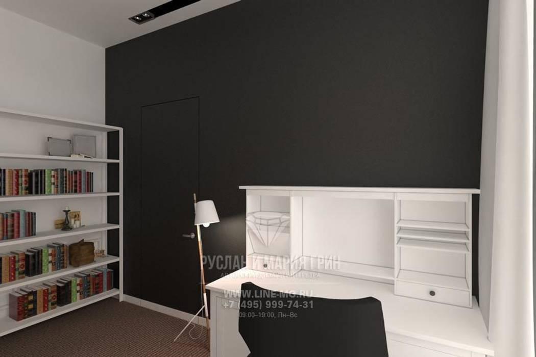 Дизайн интерьера офиса: Офисные помещения в . Автор – Студия дизайна интерьера Руслана и Марии Грин, Лофт