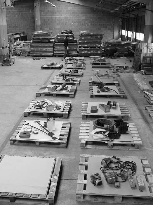 L'ensemble.: Lieux d'événements de style  par Philippe Daney