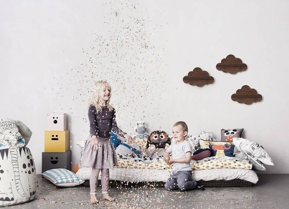 Cuscini lenzuola applique stanza dei bambini in stile di le
