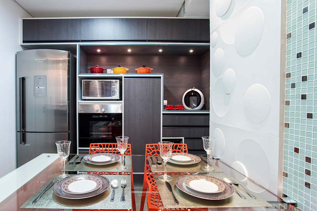 Modern style kitchen by Amanda Pinheiro Design de interiores Modern