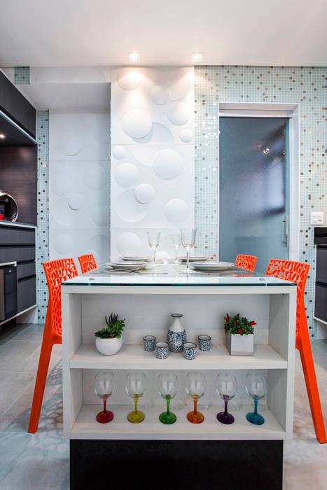 Cocinas de estilo  de Amanda Pinheiro Design de interiores, Moderno