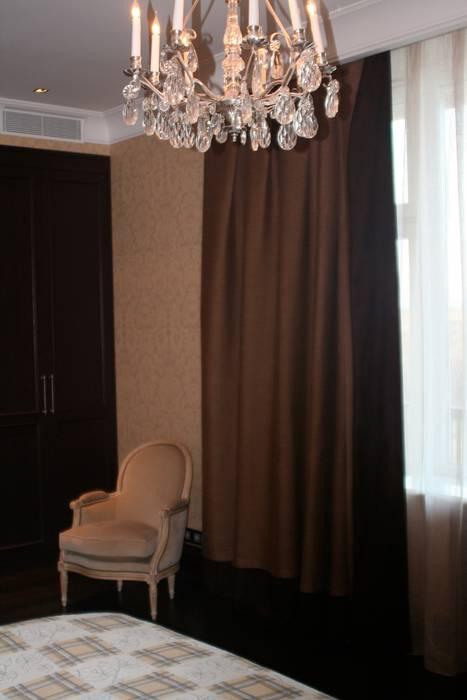 Квартира на Спиридоновке ANIMA Спальня в стиле модерн
