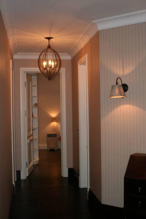 Квартира на Спиридоновке ANIMA Коридор, прихожая и лестница в модерн стиле
