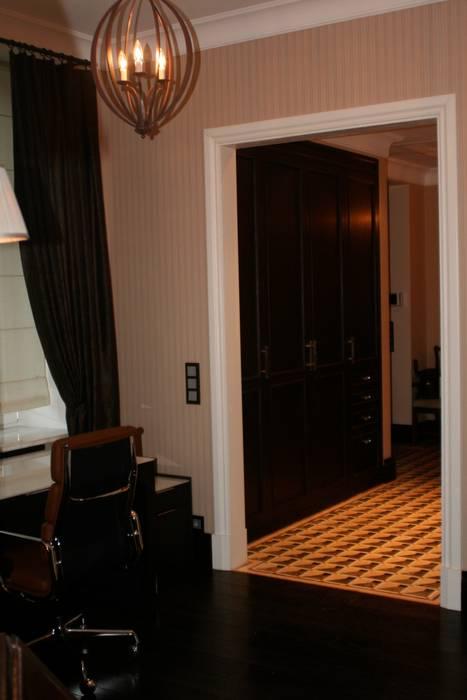 Квартира на Спиридоновке Коридор, прихожая и лестница в модерн стиле от ANIMA Модерн