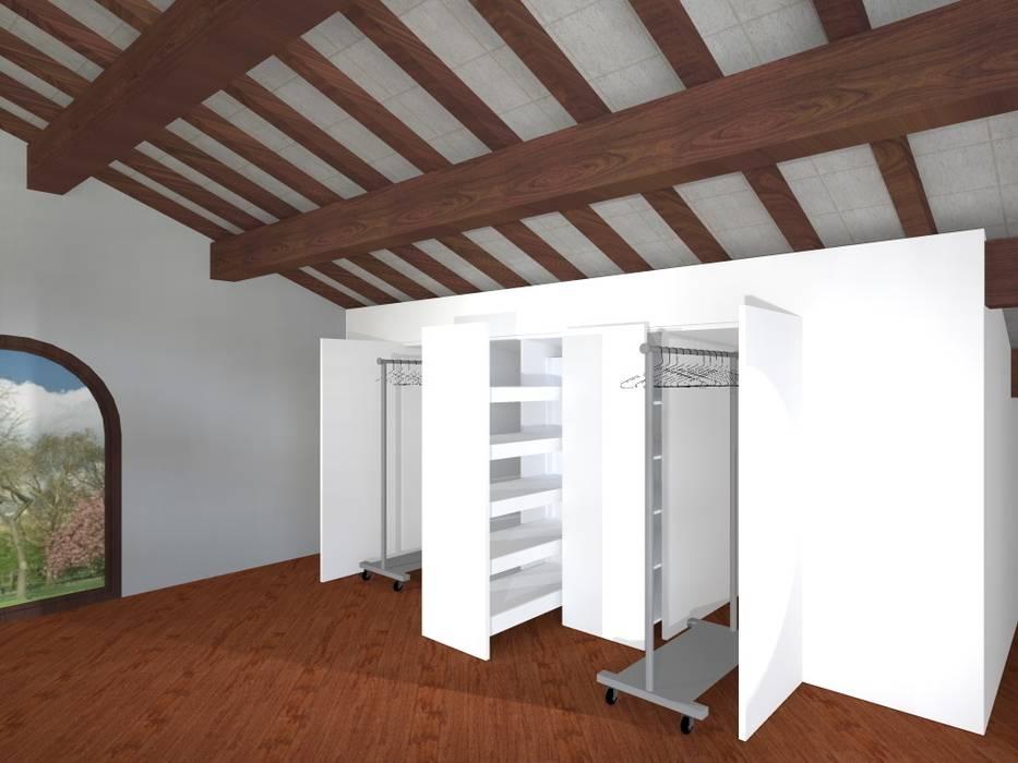 Progetto Anna Leone Architetto Home Stager Spogliatoio minimalista