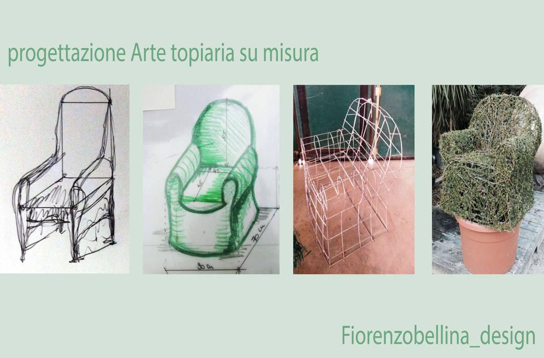 processo progettuale: Giardino in stile in stile Eclettico di Fiorenzobellina-lab