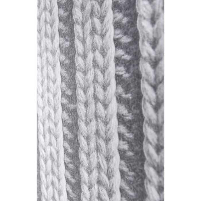 Trompe l'oeil koziel : papier peint tricot gris: murs & sols de