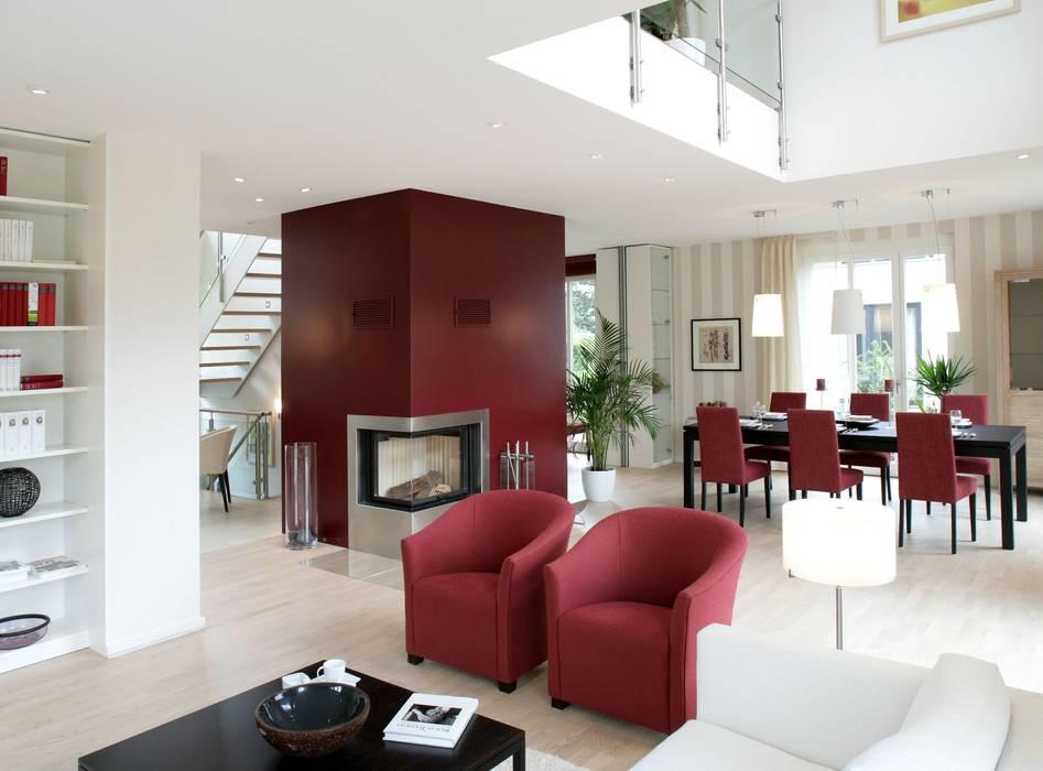 Гостиная в . Автор – Haacke Haus GmbH Co. KG, Классический