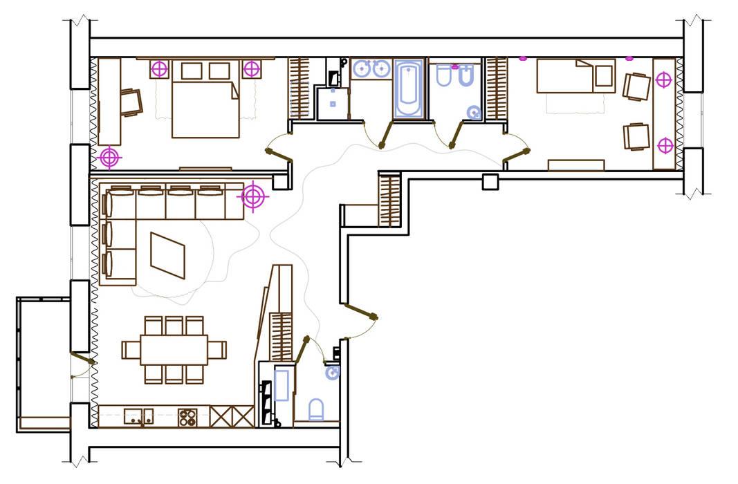 Modern Pencere & Kapılar ART-INTERNO Modern