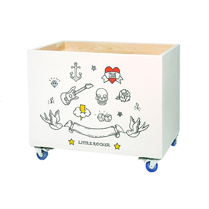 "Toy chest ""True love"" par NOBOBOBO Scandinave"