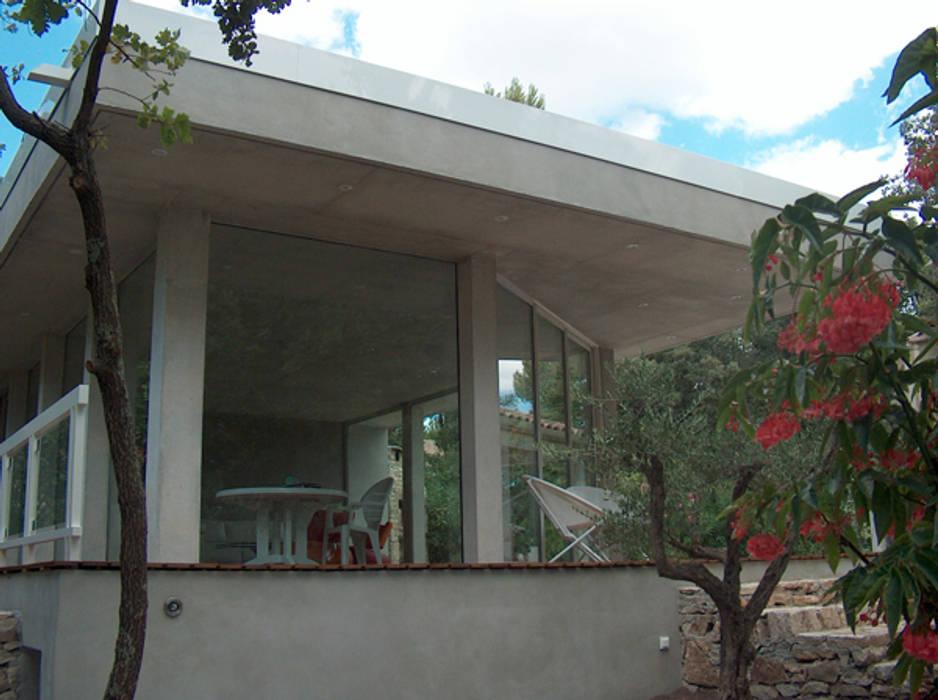 Détal façade Sud Valérie GARNIER Architecture Maisons modernes