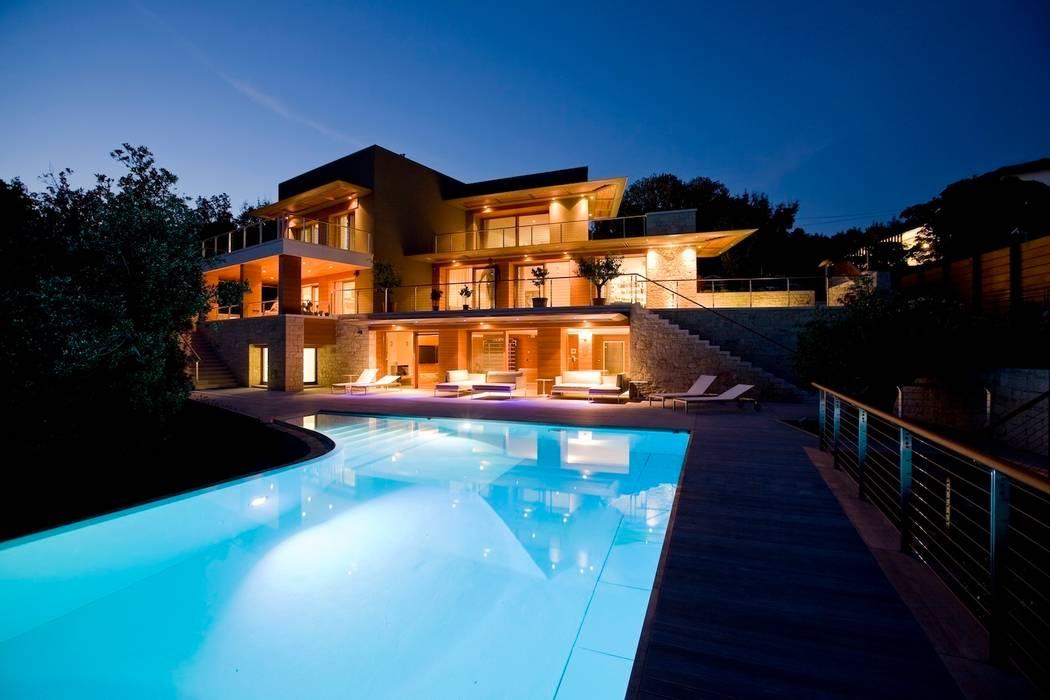 Abitazione privata M A+D Menzo Architettura+Design Case in stile mediterraneo
