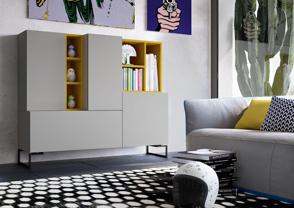 Catalogo astor mobili di nespoli 3d moderno homify for Catalogo di mobili