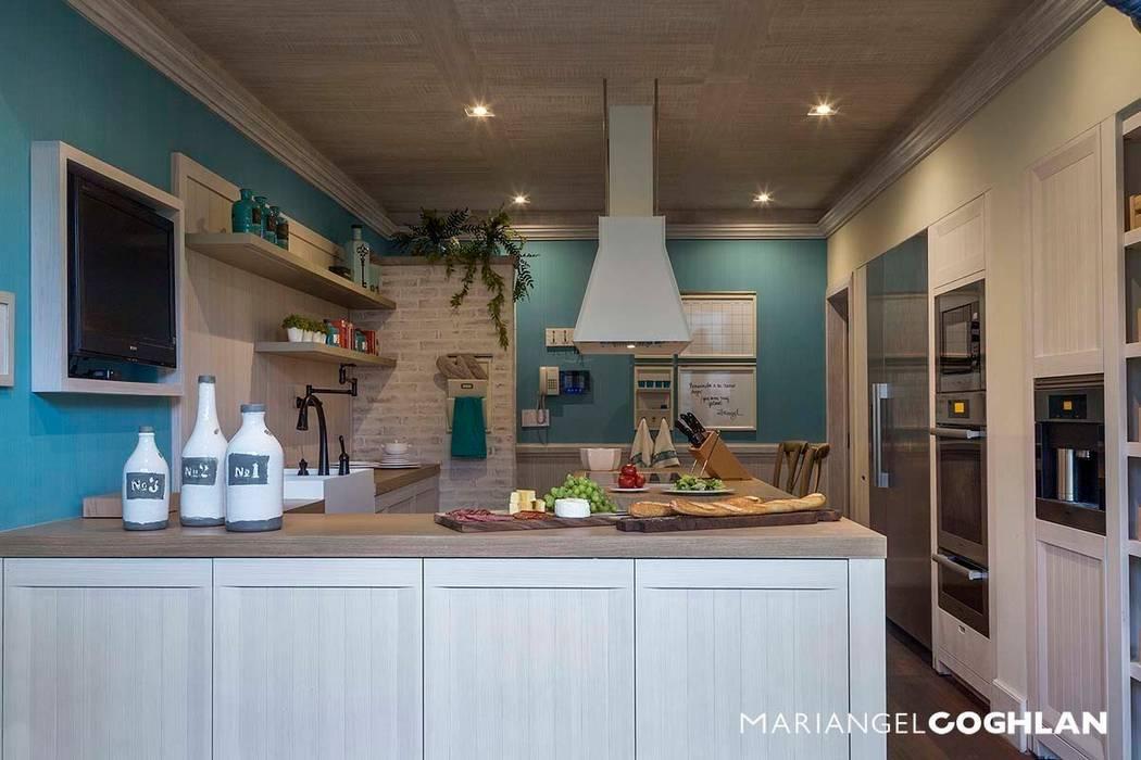 Cocina Cocinas rústicas de MARIANGEL COGHLAN Rústico