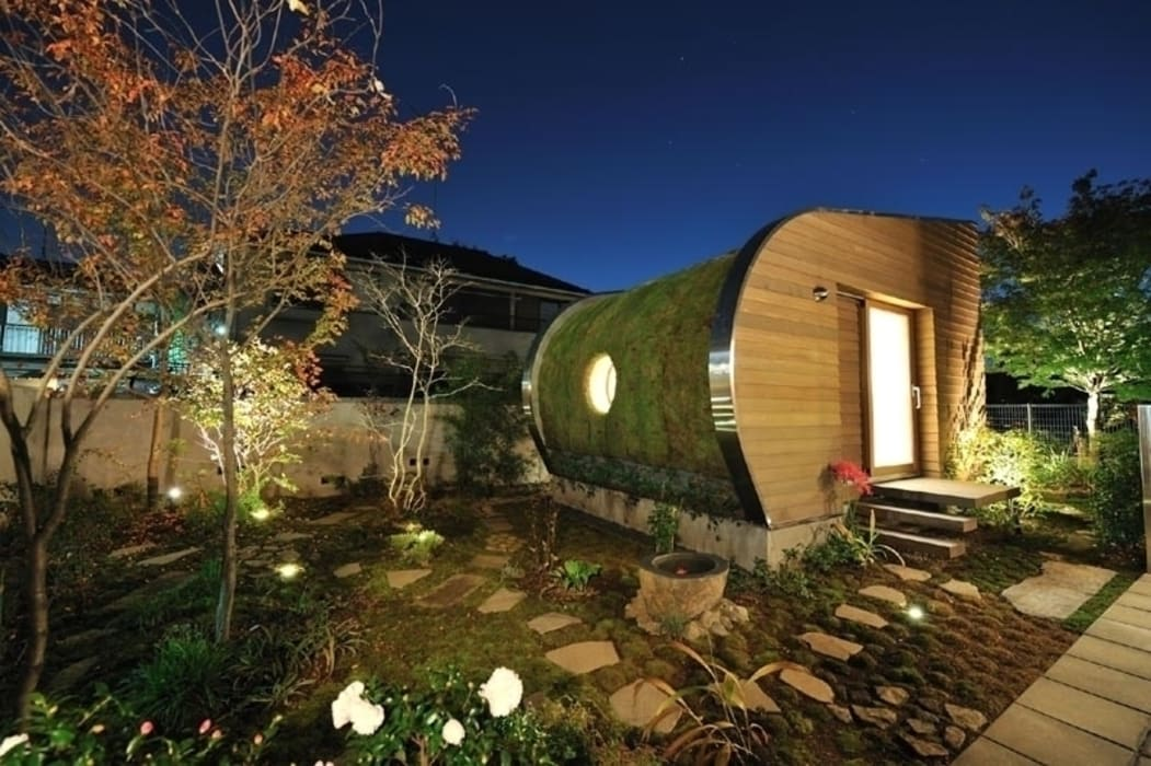 練馬 T HOUSE オリジナルデザインの 多目的室 の Style is Still Living ,inc. オリジナル