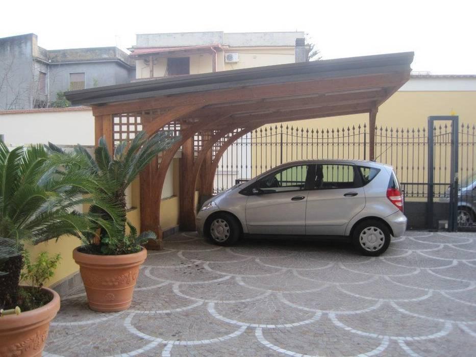 Garasi oleh RicreArt - Italmaxitetto, Mediteran