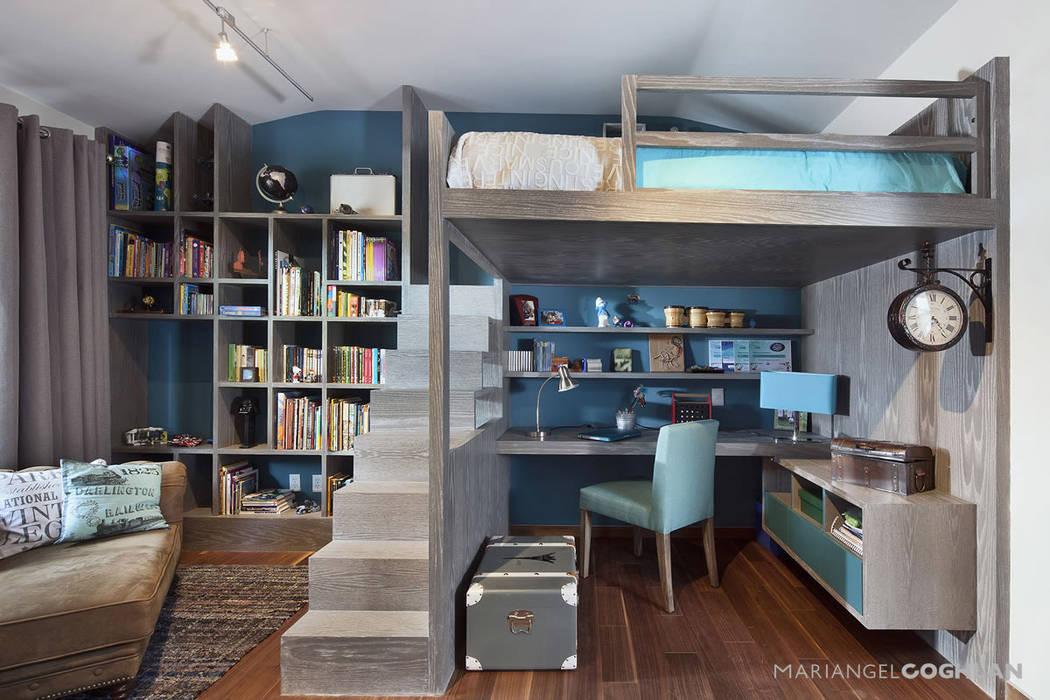 Chambre d'enfant moderne par MARIANGEL COGHLAN Moderne