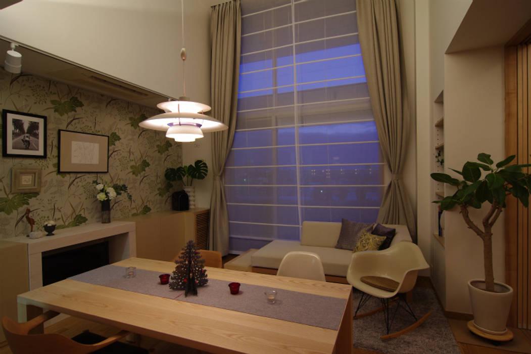 Sala da pranzo eclettica di Style is Still Living ,inc. Eclettico