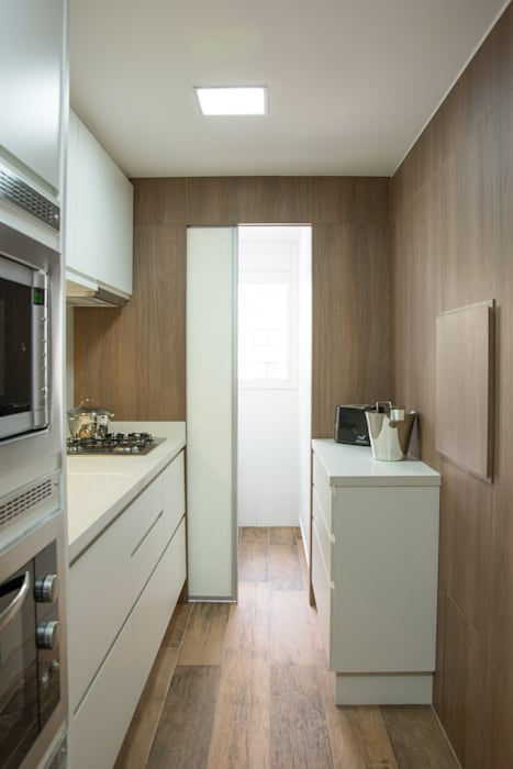 Cocinas de estilo moderno de Bibiana Menegaz - Arquitetura de Atmosfera Moderno