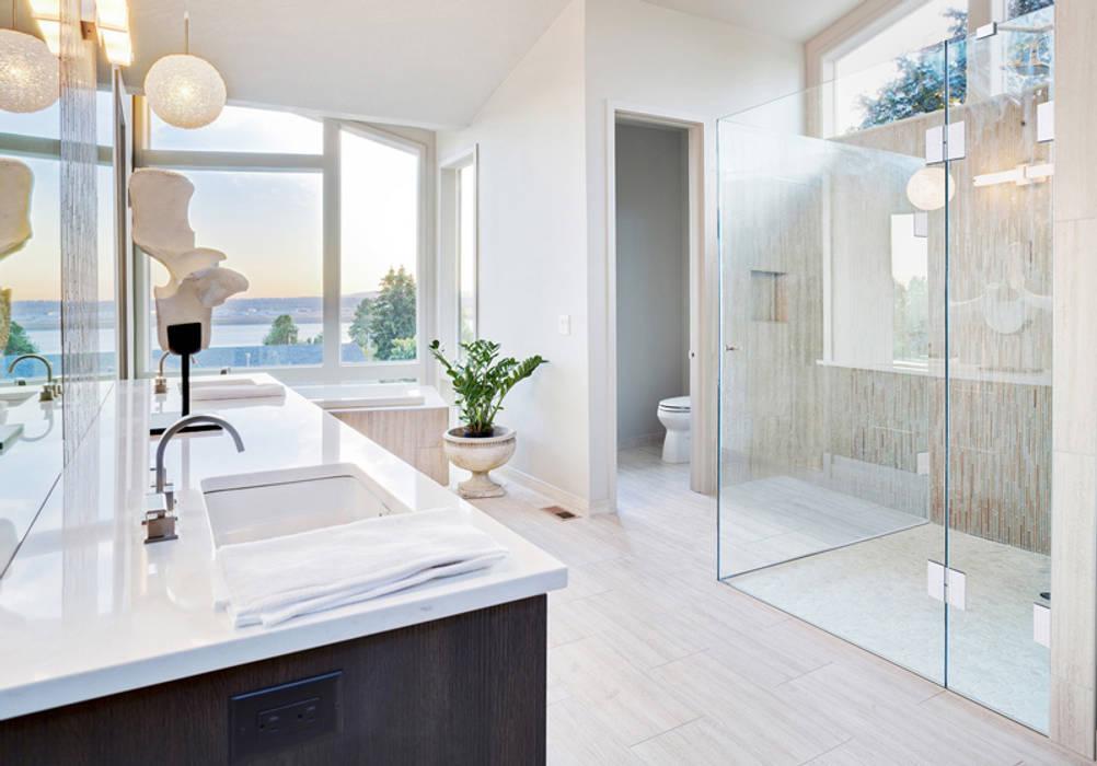 Begehbare duschen: badezimmer von saxoboard wellness ...