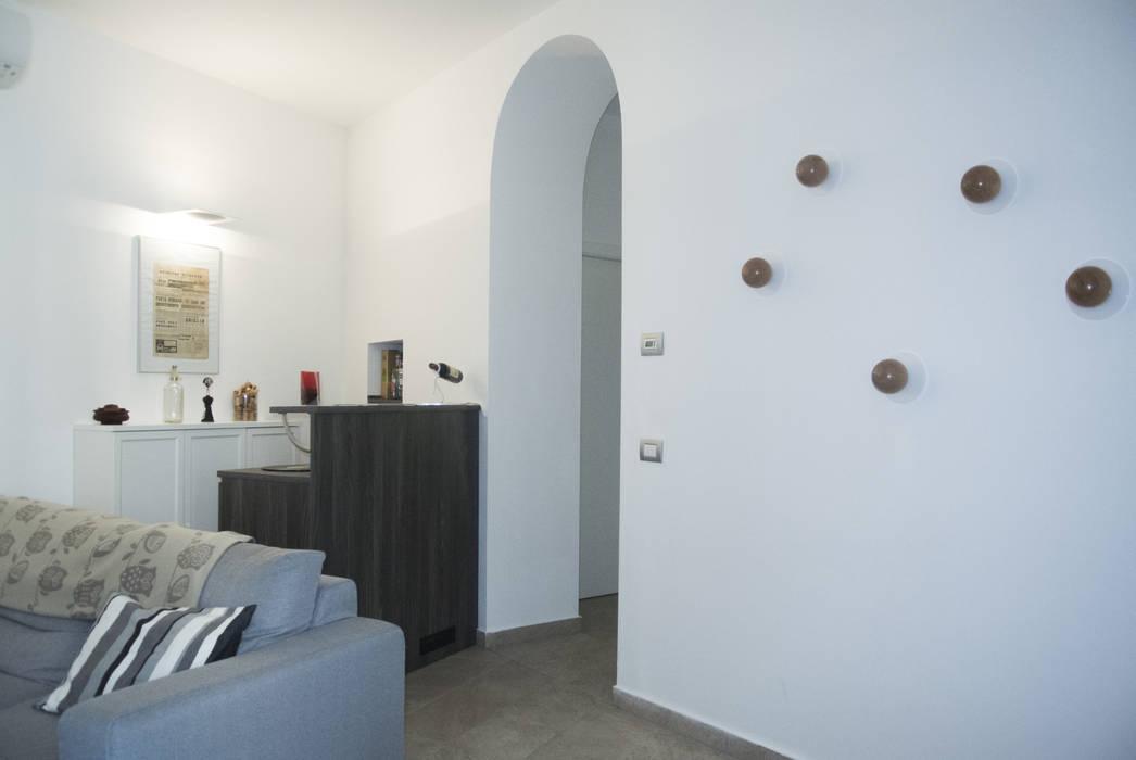 Angolo Bar Moderno Salotto.Angolo Bar Soggiorno Moderno Di Studio Di Architettura Miletta