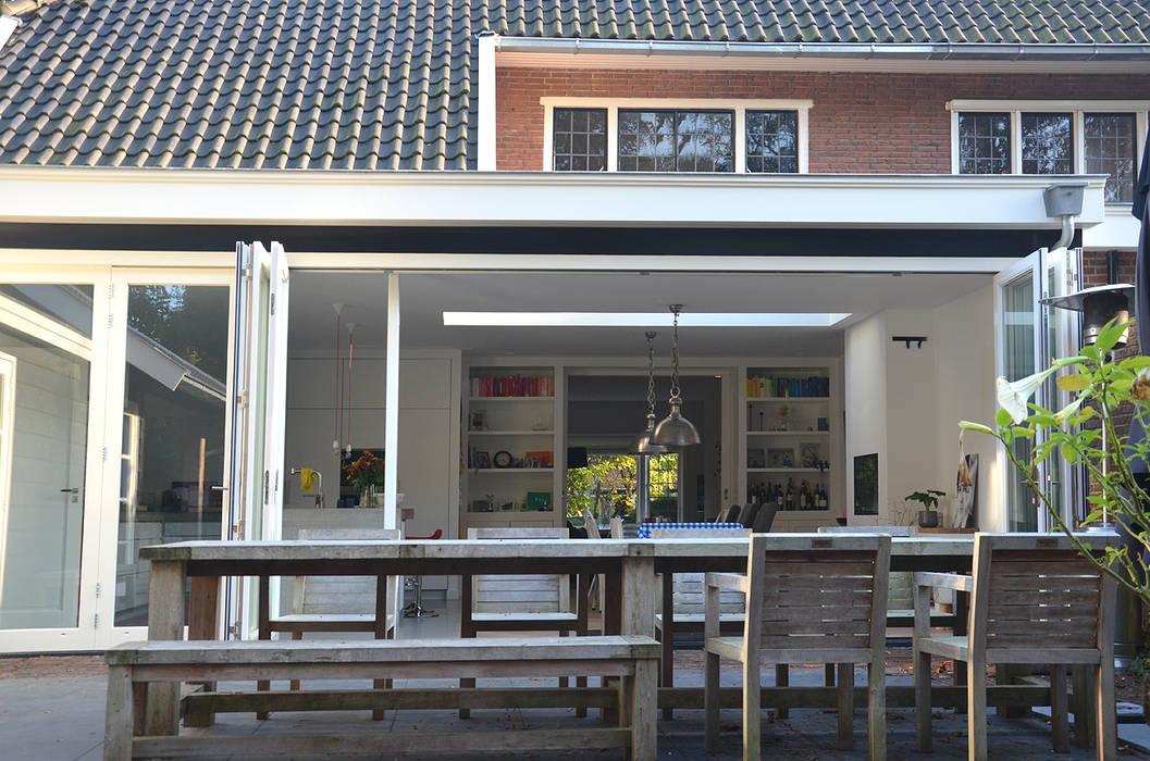 Vouwpui:  Huizen door Boks architectuur,