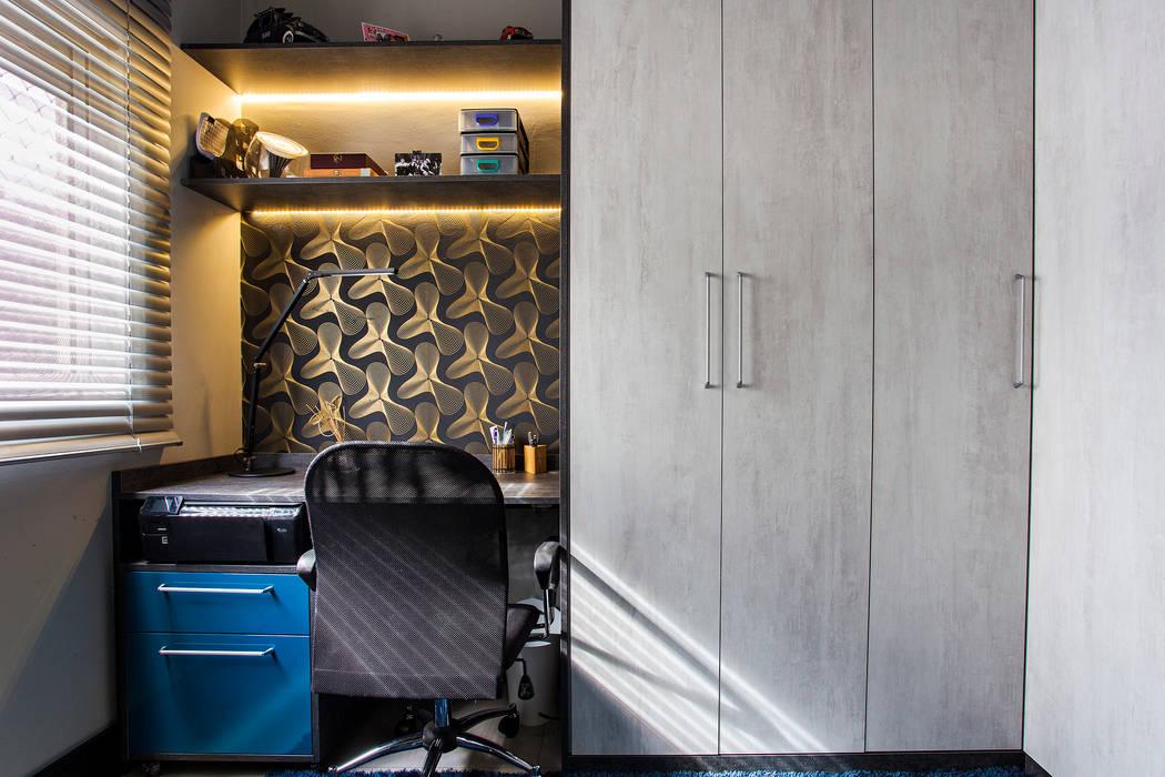 Home Office Lo. interiores Escritórios modernos