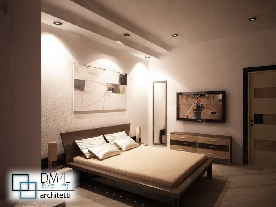 Ristrutturazione completa camera da letto moderna di dm2l ...
