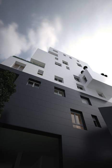 residenziale 2013: Case in stile in stile Minimalista di dellaschiava