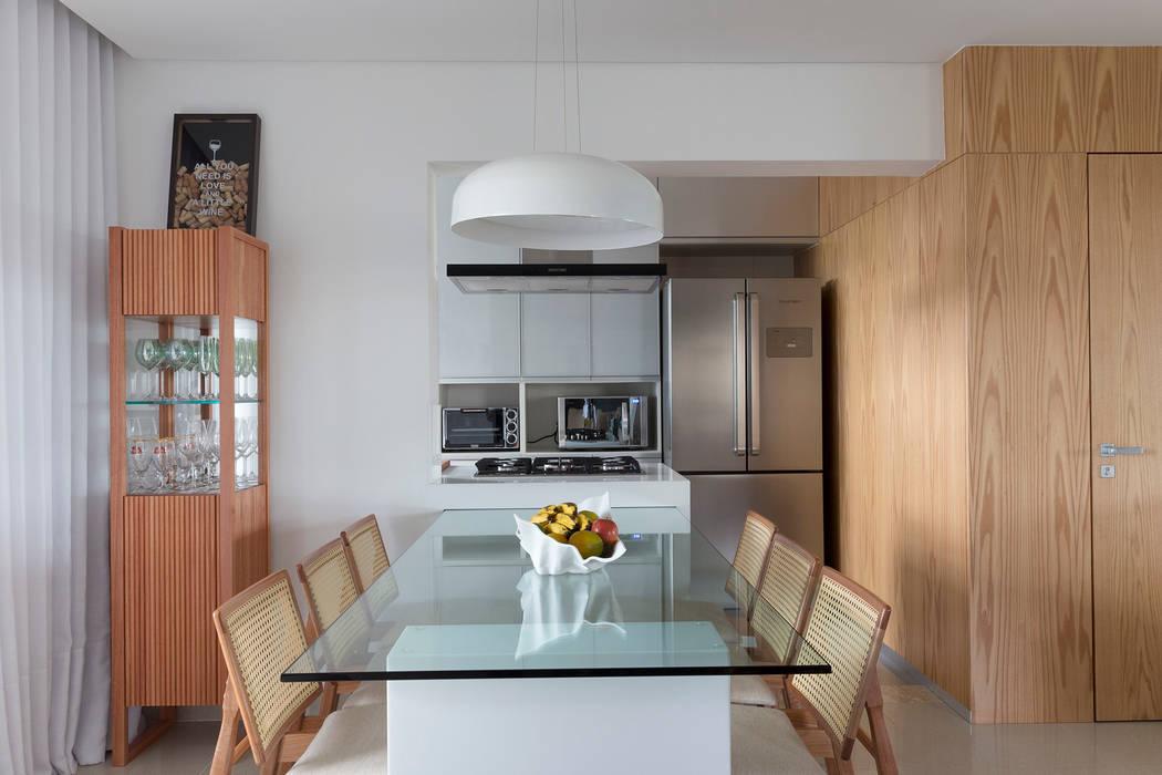 Sala de Jantar Salas de jantar modernas por Haruf Arquitetura + Design Moderno