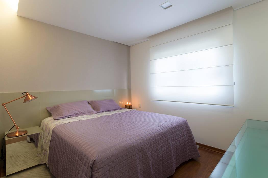 Quarto do Casal Quartos modernos por Haruf Arquitetura + Design Moderno
