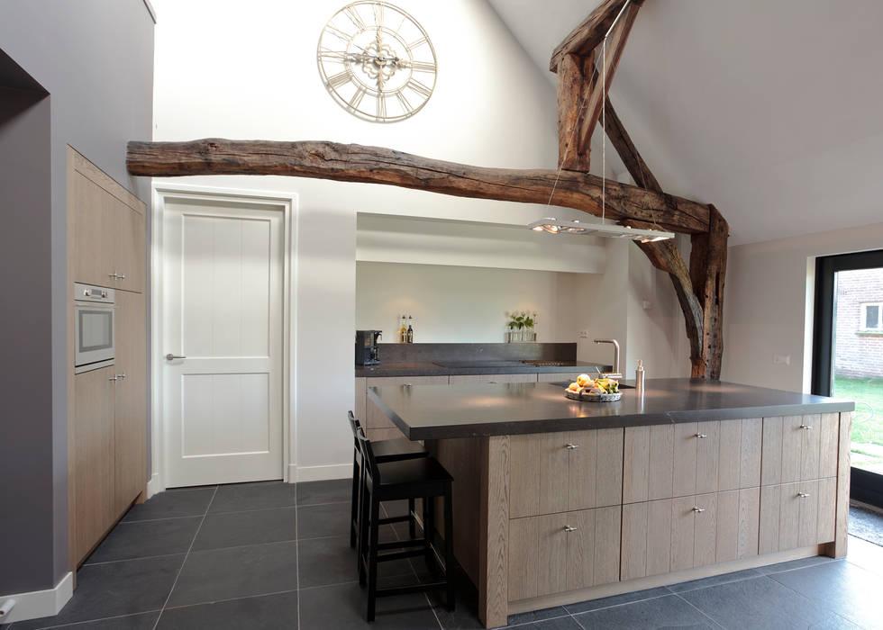 Eiken Design Klassieke keukens van Thijs van de Wouw keuken- en interieurbouw Klassiek