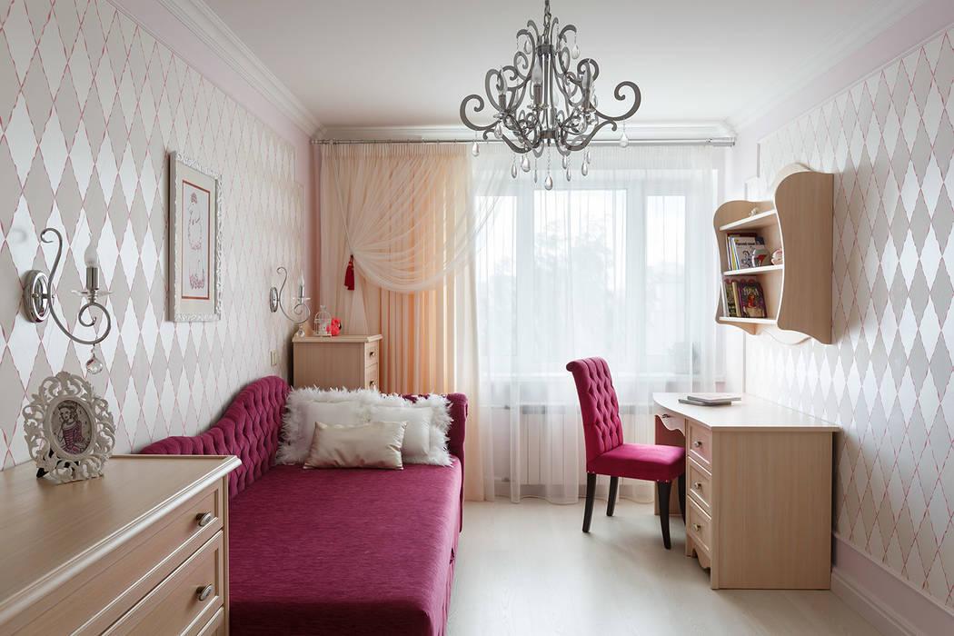 квартира 142 м.кв.: Детские комнаты в . Автор – Соловьева Мария, Классический
