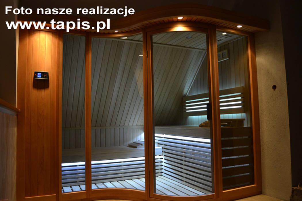 Sauna Kornelia Exclusive: styl , w kategorii Spa zaprojektowany przez TAPIS.PL