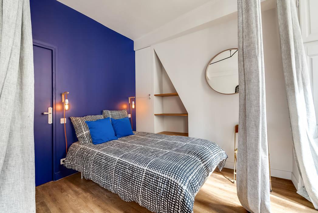 Skandinavische Schlafzimmer von blackStones Skandinavisch