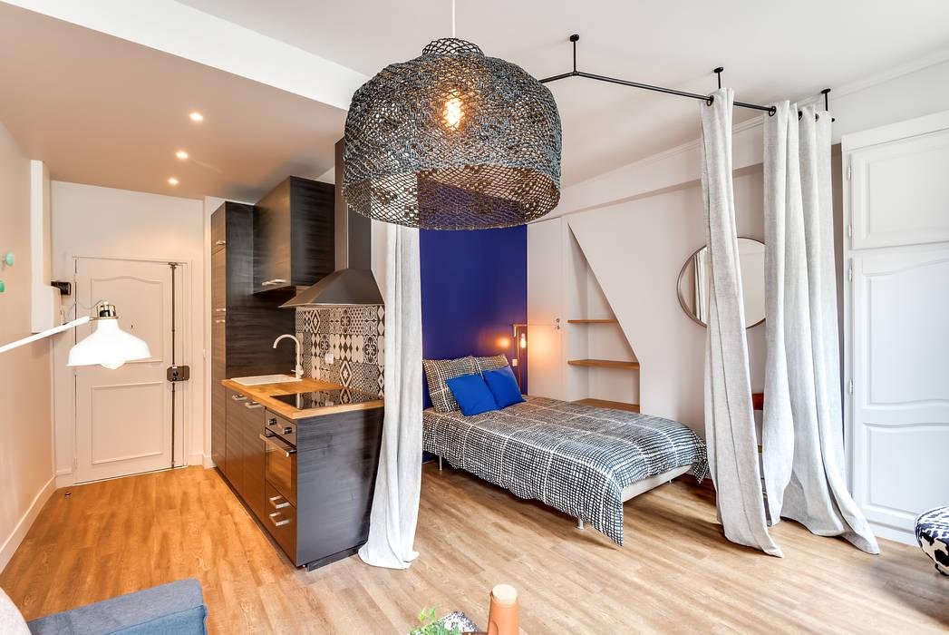 Dormitorios de estilo escandinavo de blackStones Escandinavo