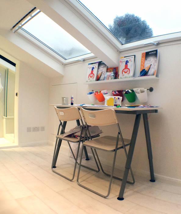 Roof lights GK Architects Ltd Nursery/kid's roomDesks & chairs