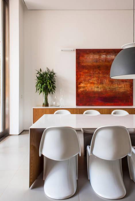 Ruang Makan Modern Oleh Felipe Bueno Arquitetura Modern