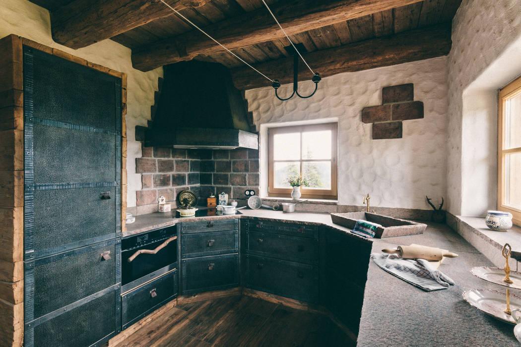 Industrial style kitchen by METAL INTERIOR Industrial Metal