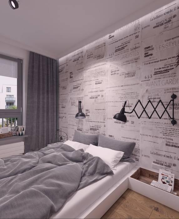 Dormitorios de estilo industrial de The Vibe Industrial