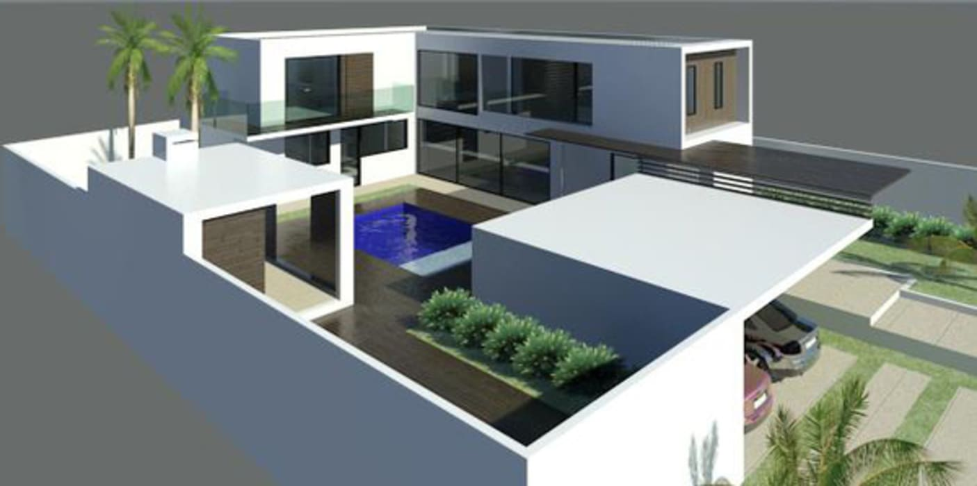 Modern houses by estudio ark it