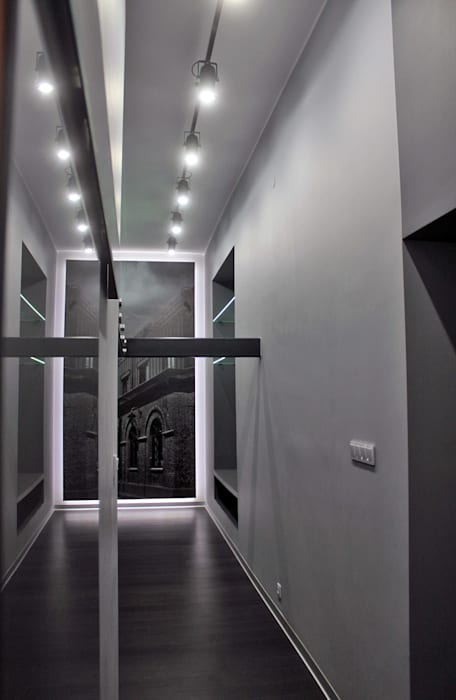 Modern Corridor, Hallway and Staircase by WE LOFT DESIGN Modern